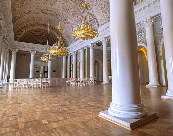 Белоколонный зал Юсуповского дворца